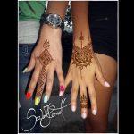 Anya és lánya henna